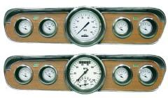Classic Instruments 1965-1966 Mustang Gauge Set - White Hot Series
