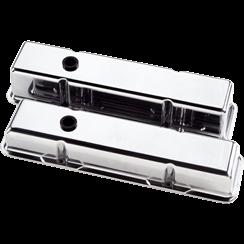 Billet Specialties Small Block Chevy Plain Valve Covers