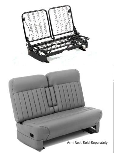 Glide Engineering 1935 - 1948 Square Split Back Seat Frame