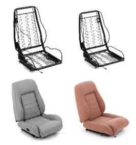Glide Engineering Universal Sport Bucket Seat Frame