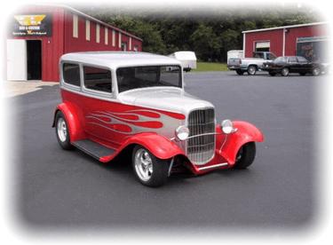 Dan Barbeau's 1932 Ford Tudor Sedan and Delivery