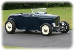 Ronnie Goodwin's 1932 Ford Roadster