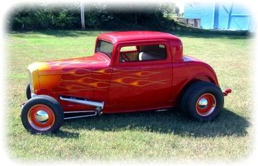 Wanda Kyzer's 1932 Ford 3 Window Coupe