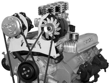 Alan Grove Buick 401-425 Street Rod Air and Alternator Brackets
