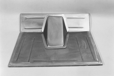 Direct Sheetmetal 1928-1931 Ford Front Floor Panel - Stock Firewall