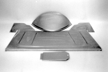 Direct Sheetmetal 1928-1931 Ford Front Floor Panel