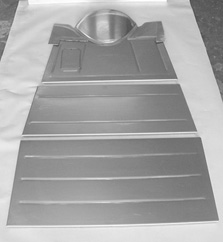 Direct Sheetmetal 1928-1931 Ford Complete Floor Panel