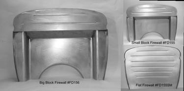 Direct Sheetmetal 1930-1931 Ford Firewall