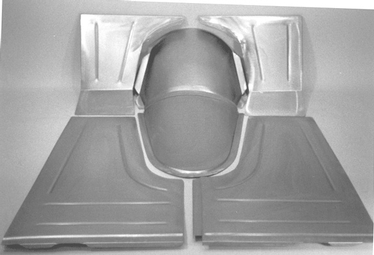 Direct Sheetmetal 1933-1934 Ford Front Floor Panel