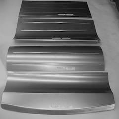 Direct Sheetmetal 1933-1934 Ford Rear Floor Panel