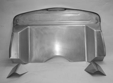 Direct Sheetmetal 1937-1940 Ford Firewall