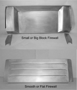 Direct Sheetmetal 1941-1948 Ford Firewall