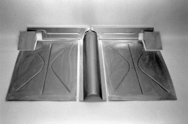 Direct Sheetmetal 1935-1936 Ford Rear Floor Panel