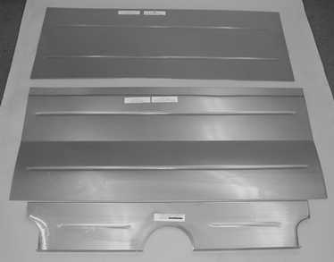 Direct Sheetmetal 1935-1936 Ford Coupe Trunk Floor Panel