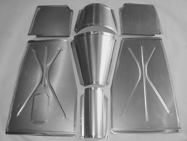Direct Sheetmetal 1935-1940 Ford Front Floor Panel