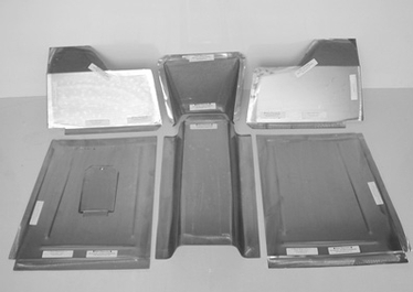 Direct Sheetmetal 1941-1948 Ford Front Floorboard Panel