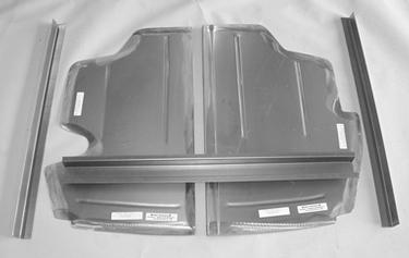 Direct Sheetmetal 1941-1948 Ford Trunk Floor Panel