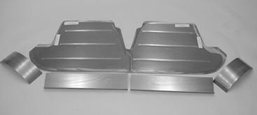 Direct Sheetmetal 1941-1948 Ford Rear Seat Riser Panel