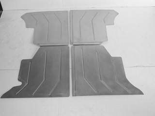 Direct Sheetmetal 1941-1948 Ford Woodie Rear Deck Floor Panel