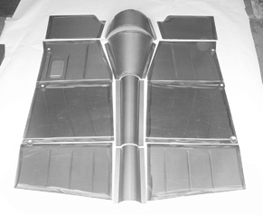 Direct Sheetmetal 1949-1951 Ford Floorboard Panel