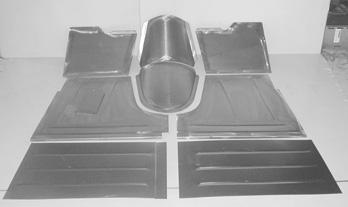 Direct Sheetmetal 1948-1952 Ford Pickup Floorboard