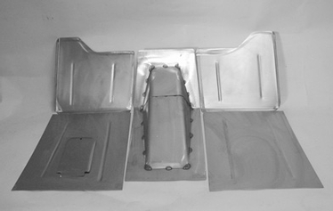 Direct Sheetmetal 1935-1936 Chevy Front Floorboard