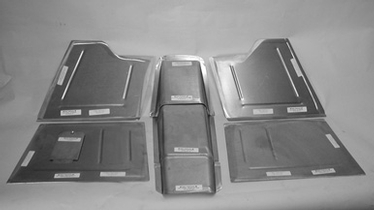 Direct Sheetmetal 1941-1948 Chevy Front Floorboard