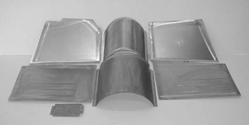 Direct Sheetmetal 1949-1950 Chevy/Olds Front Floorboard