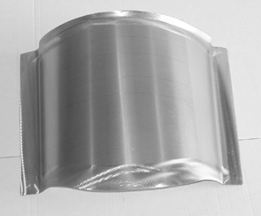 Direct Sheetmetal 1955-1957 Chevy Transmission Cover