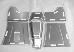 Direct Sheetmetal 1937-1946 Chevy Pickup Floorboard