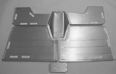 Direct Sheetmetal 1947-1954 Chevy Pickup Front Floorboard