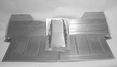 Direct Sheetmetal 1955-1959 Chevy Pickup Floorboard