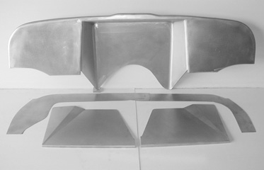 Direct Sheetmetal 1967-1975 Chevy Pickup Firewall