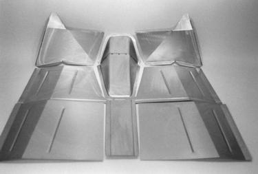 Direct Sheetmetal 1937-1942 Willys Front Floorboard