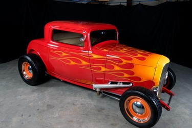Wanda Kyzer's '32 Ford 3 Window Coupe