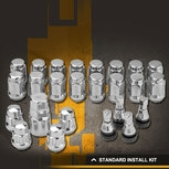 Rocket Racing Wheels Standard Chrome Lug Nuts Kit