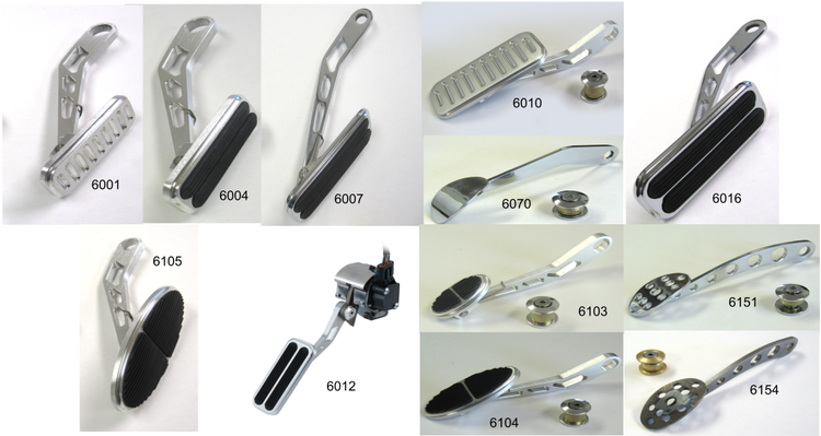 Lokar Drive-By-Wire Throttle Pedal Sets