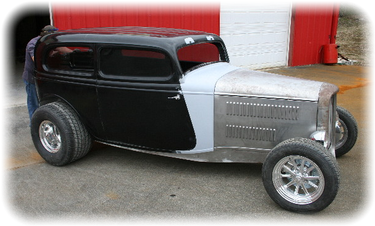 Dick Clark's '34 (or is it a '32?) Ford Sedan