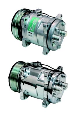 Sanden SD508 Rear Exit Compressor V-Belt or Serpentine