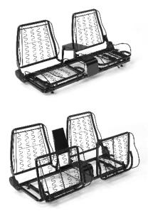 Glide Engineering 1953-56 Ford Pick-Up Tapered Bucket Seats