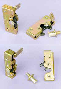 Bear Claw Latches, Plates & Pins