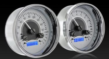 Dakota Digital VHX Universal 5 Inch Dual Round