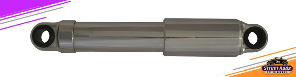 """Polished Mono-Tube Shock 9.3""""-14.1"""" Covered Shaft"""