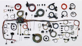 American Autowire 1983-87 Chevy/GMC Truck Classic Wiring Kit