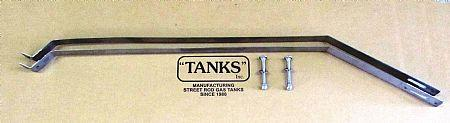 1955-56 Ford Fuel Tank Mounting Straps