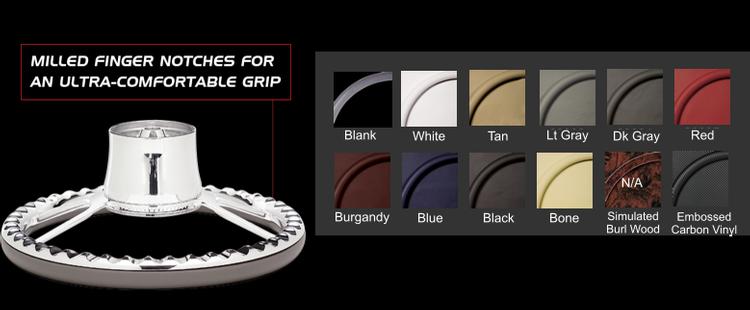 Steering Wheel Half-Wrap Colors