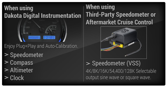 Dakota Digital Gear Shift Sender GSS-2000a