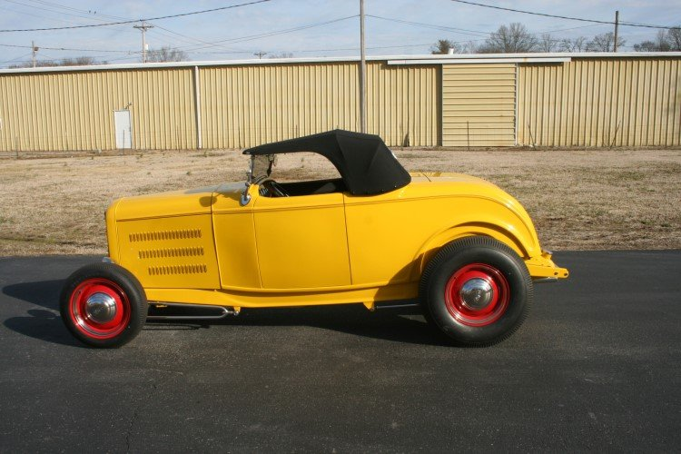 Yellow 32 Ford Roadster