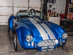 Shelby Cobra in the shop for a quick tune !