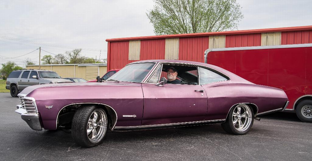 Our Fearless Leader in a 67 SS Impala